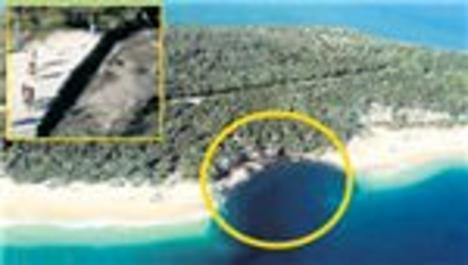 Avustralya'da sahil kayboldu