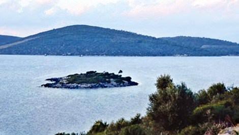 Murat Demirel'in Bodrum'daki adası