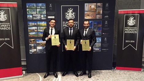Europen Property Awards'tan NEF'e 3 ödül