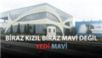 Yedi Mavi Zeytinburnu satış ofisi bitti bitecek!