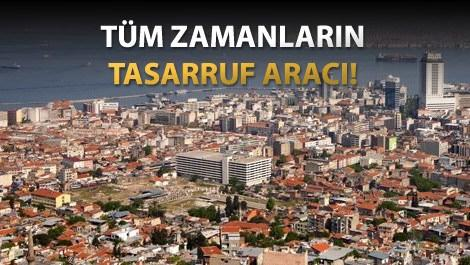 İzmir kordonda Hilton Oteli'nin çevresindeki konutlar