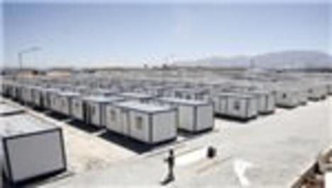 Türkiye'deki konteyner kentlerde 258 bin Suriyeli barınıyor!