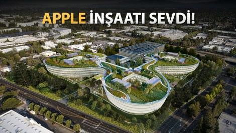 Apple'dan 2. büyük akıllı ve yeşil kampüs projesi