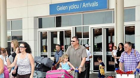 türkiye'ye gelen turistler