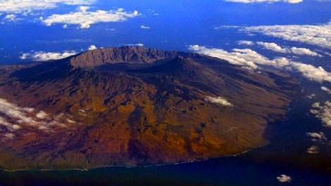 Pico De Fogo Volkanik dağı