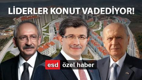 ahmet davutoğlu, kemal kılıçdaroğlu, devlet bahçeli seçim vaatleri