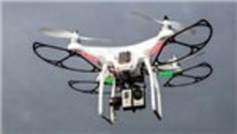 Havalimanında drone alarmı!