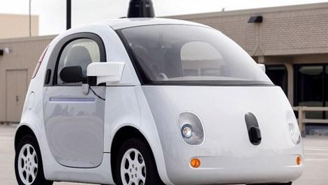 Google sürücüsüz otomobili
