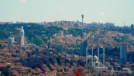 Ankara'nın hava fotoğrafı