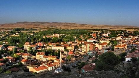 Kayseri ilçesi Bünyan'ın görüntüsü