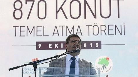 Çevre ve Şehircilik Bakanı İdris Güllüce
