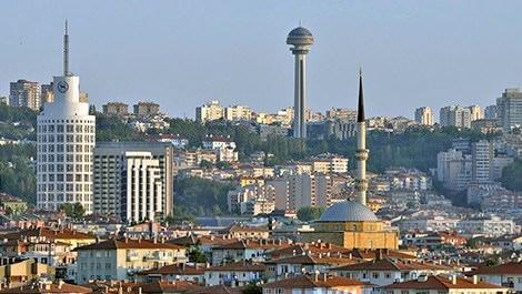 Ankara'nın genel görünümü