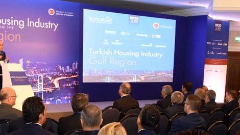 Türk Gayrimenkul Sektörünün Körfez Yatırımcıları ile Buluşması toplantısı