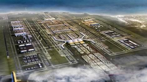 3. havalimanının genel görünümü