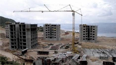 üç konut inşaatı