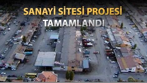 Aksaray Sanayi Sitesi Projesi
