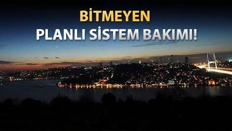İstanbul elektrik alamıyor!