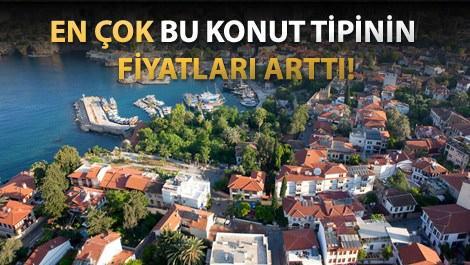 Antalya'da satış fiyatları, Bursa'da kiralar yükseldi!