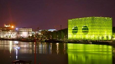Euronews'in yeni yeşil binası