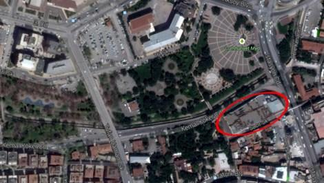 Gaziantep'teki AVM'nin yerine park yapılacak