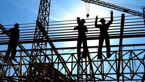 Avrupa'da inşaat üretimi yıllık bazda yüzde 6 azaldı