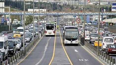 metrobüs yolu