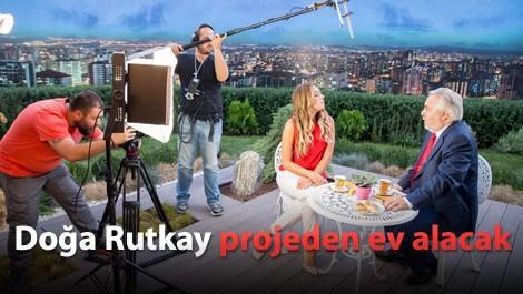 Akkent'in reklam yüzü Rutkay Aziz ev Doğa Rutkay!