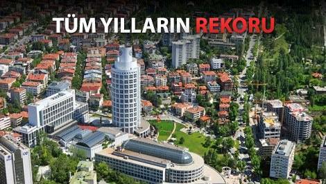 'Konutta en fazla büyüme Ankara'da yaşandı'