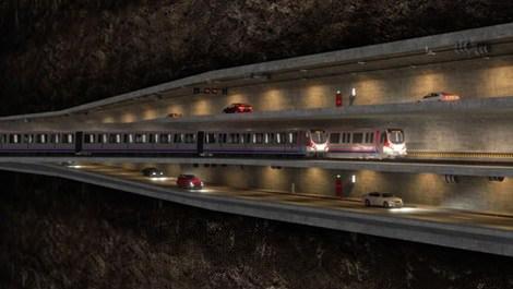3 Katlı Büyük İstanbul Tüneli