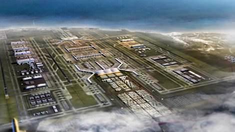 3. Havalimanı'nda ilk bölüm Mart 2018'de bitecek!