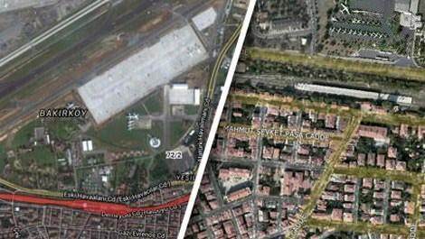 TCDDnin Yeşilköy'deki kiralık hangar binası