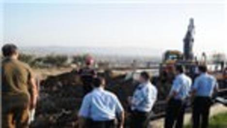 Kahramanmaraş'ta göçük:1 ölü
