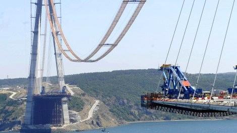 3. köprünün inşaat resmi