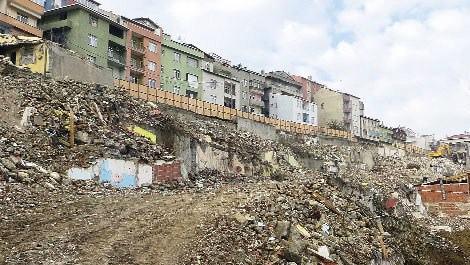 kentsel dönüşüm yıkımlarının yapıldığı fikirtepe