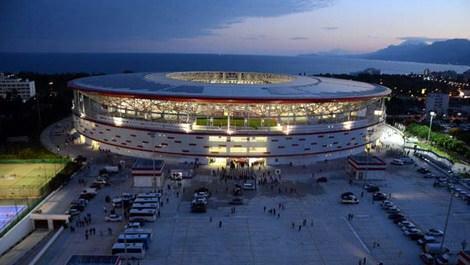 Antalya Arena kapılarını açtı!