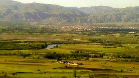 Kemah Barajı'nın yapılacağı alan