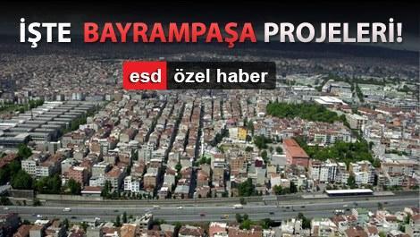 Markalı projeler Bayrampaşa'nın çehresini değiştirdi!