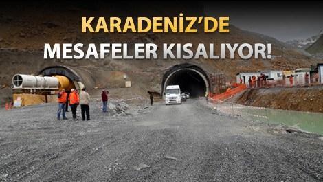 Ovit ve Cankurtaran tünellerinde sona yaklaşıldı!