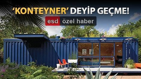 özel tasarım konteyner evler