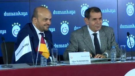 Dumankaya ve Galatasaray imzaları attı