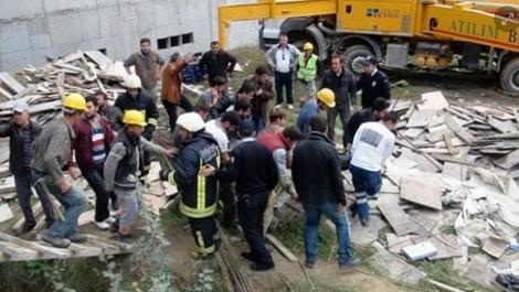 Siirt'te inşaat kazası