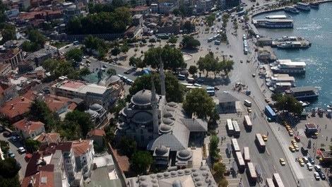 Üsküdar'ın havadan görüntüsü