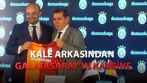 Galatasaray göğsünde Dumankaya'yı taşıyacak