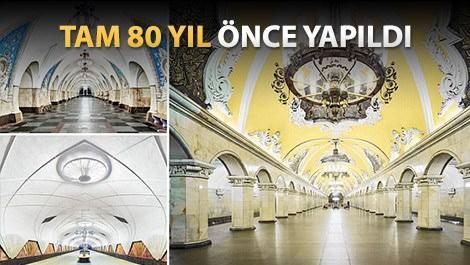 Saray değil Moskova Metrosu
