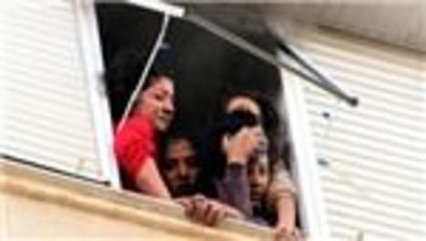 Kız öğrencilerin kaldığı evde yangın!