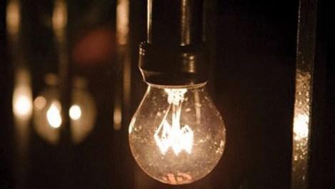 Elektrik kesintisini temsilen kullanılan ampul