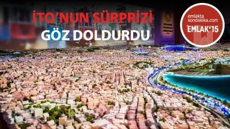 İTO'NUN Emlak Fauarı'nda tanıttığı Yaşayan İstanbul Maketi