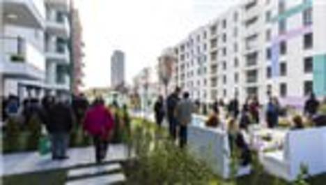 Park Mozaik'in 4+1 örnek dairesine yoğun ilgi