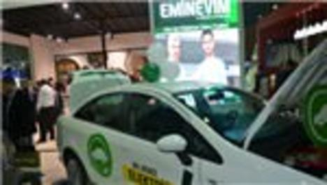 Emin Grup, elektrikli otomobili ile Ankara'da!