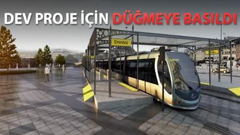 eminönü alibeyköy tramvay projesi